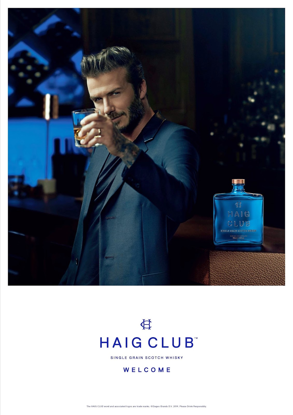 Haig Club Whiskey by David Beckham