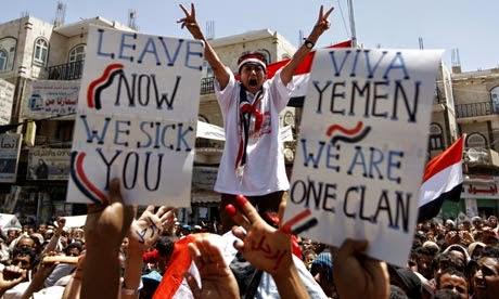 Yaman Asia Barat dan Amerika Masa Depan Kebangkitan Arab