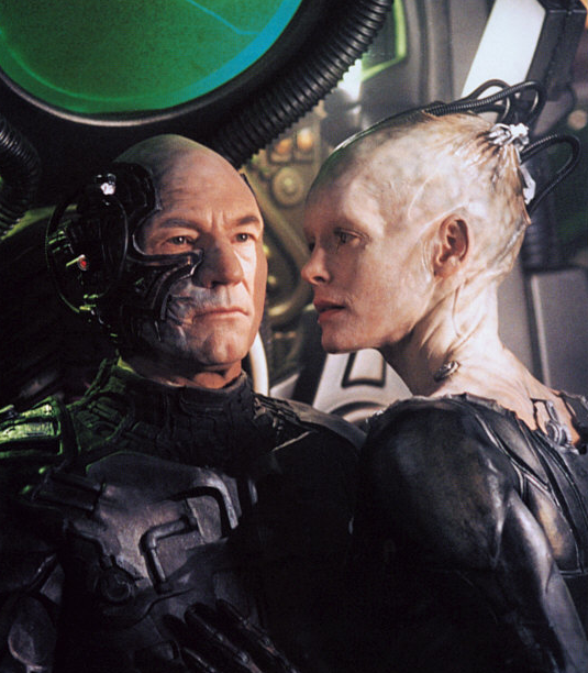 The Borg Queen is Portrayed by