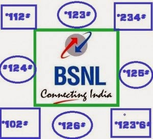 BSNL ALL USSD Codes List with details
