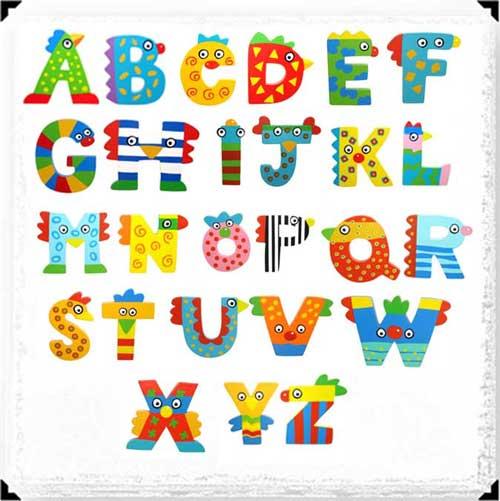 Moldes de letras mayusculas para imprimir y recortar