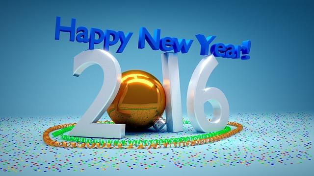 Felicitaciones de Feliz Año Nuevo 2016