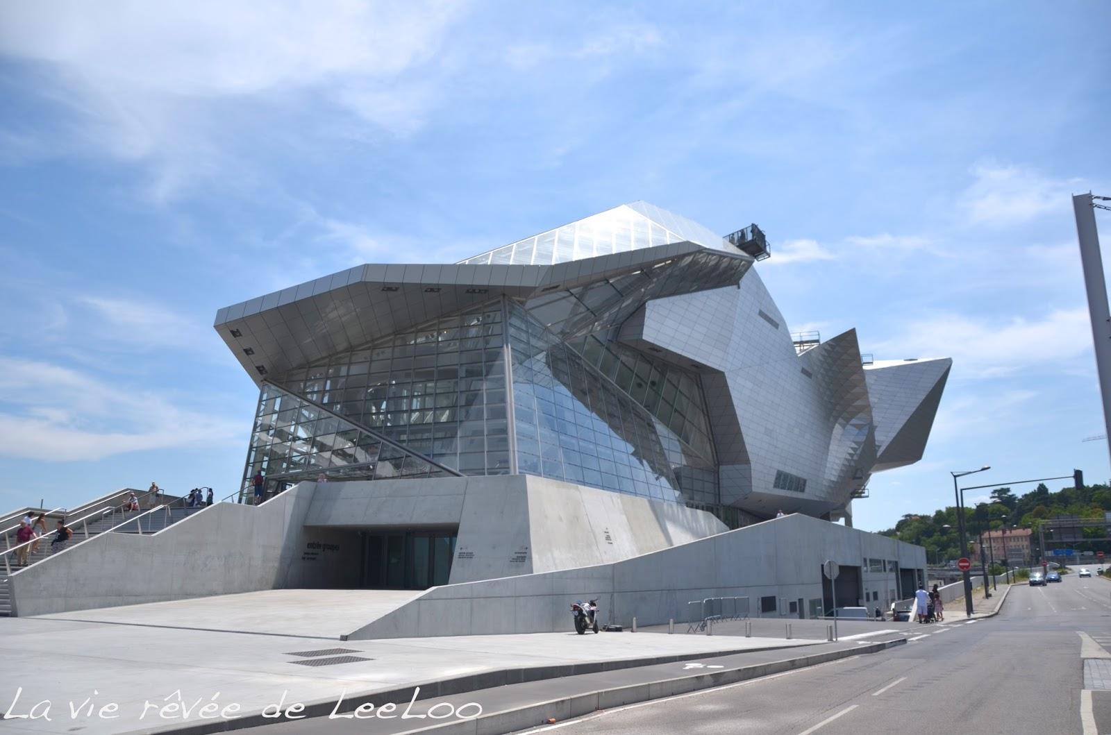 Les sorties de margot le mus e des confluences la vie for Architecte musee confluence