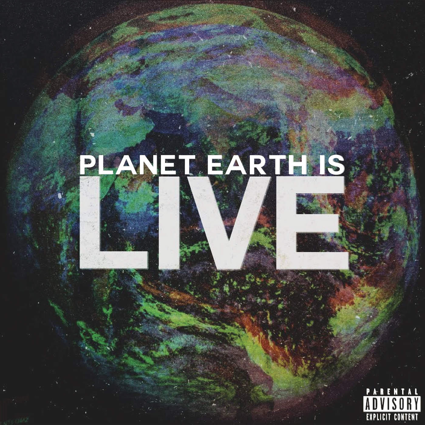 Audio Push - Planet Earth Is Live - Single Cover