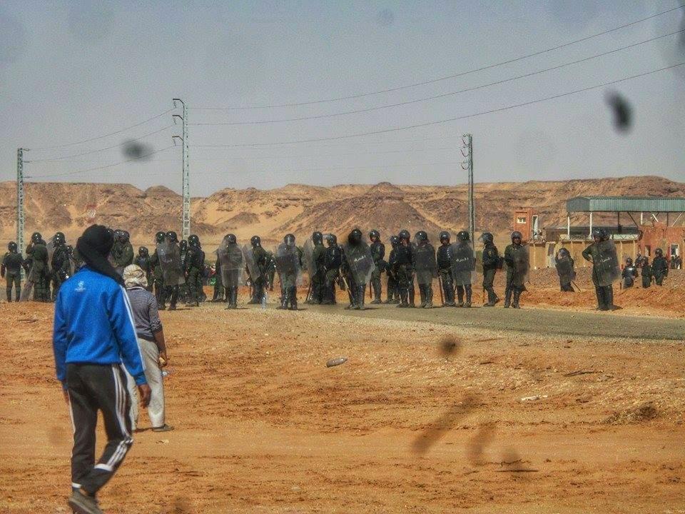 مظاهرات الغاز الصخري تمنراست