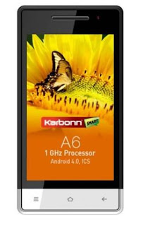 Karbonn A6 price in India image