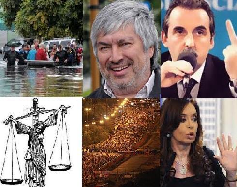 Lavado de dinero. Lázaro Báez, Cristina Kirchner, inundados