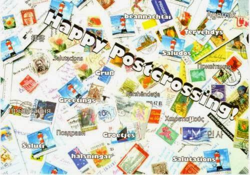Happy Postcrossing!