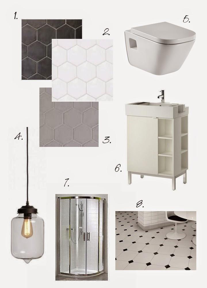 Simply about home heksagony i klimat b w w ma ej azience - Equipe ceramicas ...