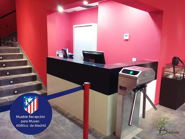 Mueble Recepcion Museo Atletico de Madrid