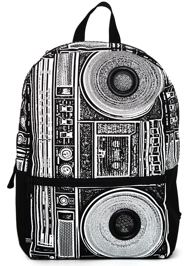 Mojo Boombox Masta Blasta speaker backpack