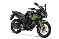 2011 Yamaha Fazer Cyber Green