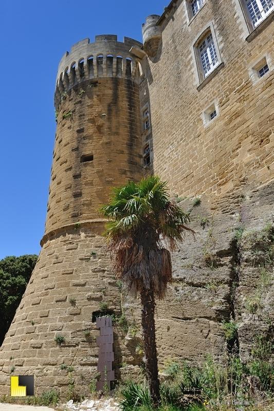 une tour du château de suze la rousse photo blachier pascal
