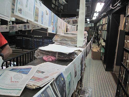 Funcionários da Biblioteca Nacional pedem interdição do prédio