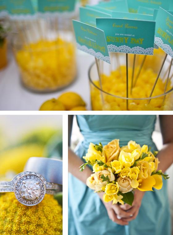 decoracao de festa azul marinho e amarelo: : Casamento: Decoração com Azul Tiffany, Branco e Amarelo Ouro