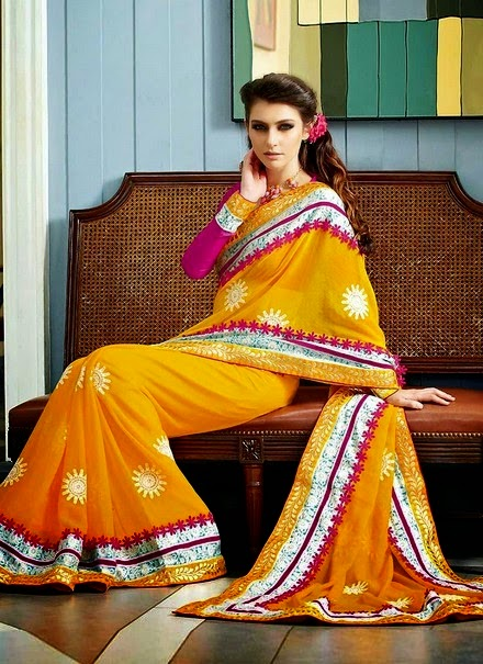 Party Wear Sarees 2014