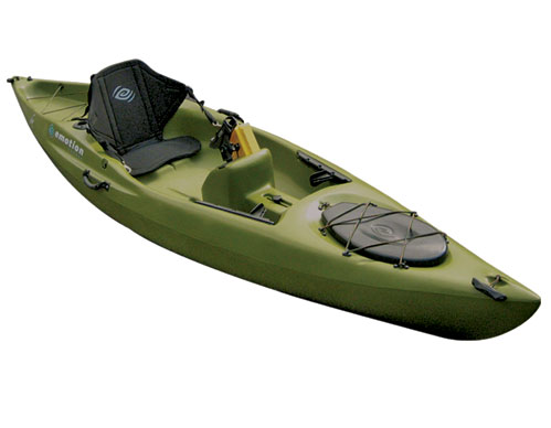 The kayak project shop emotion mojo angler for Emotion fishing kayak