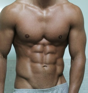 Black 6 Pack Abs