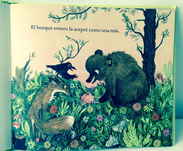 Libro infantil:Salvaje