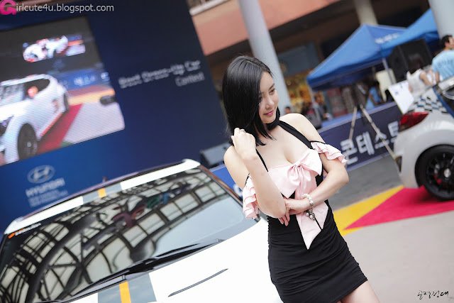 1 Min Soo Ah at Hyundai Best Dress-up Car Contest 2012-very cute asian girl-girlcute4u.blogspot.com