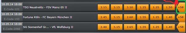 merrybet betting types