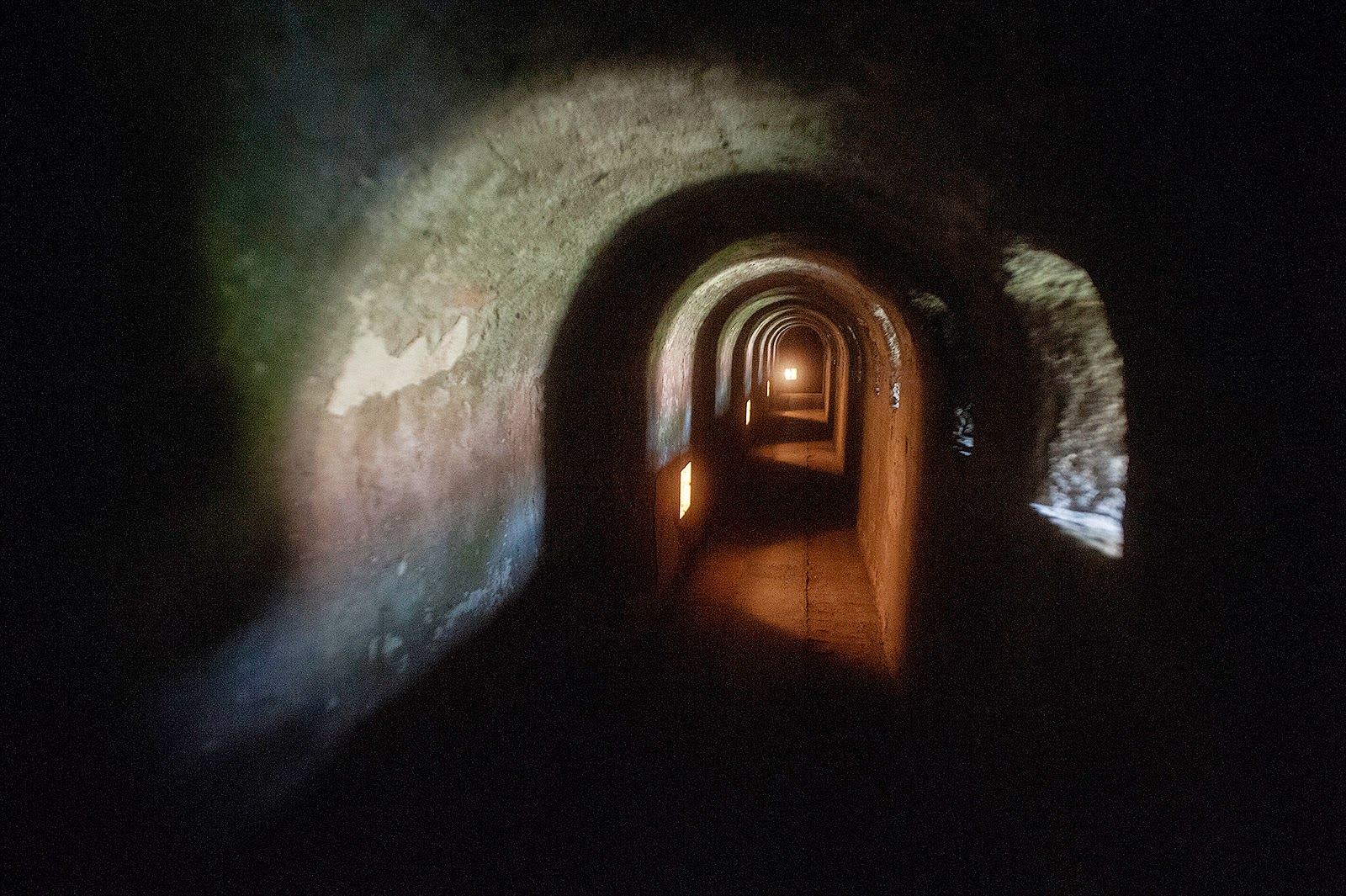 Terezin, Czech Republic, ghetto, concentration camp, fortress tunnel. fortress