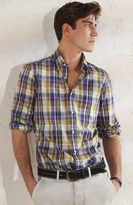 camisa cuadros hombre Massimo Dutti
