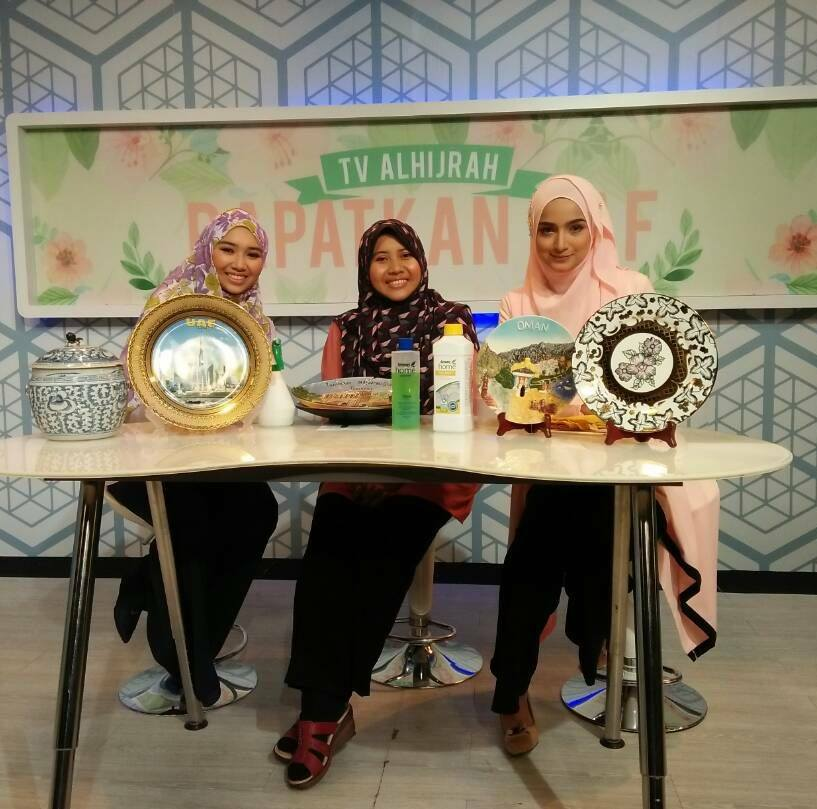 Penulis Dalam Rancangan Assalamualaikum TV Al Hijrah