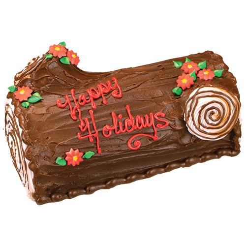 ... Christmas log Cake, Xmas Log Cake Images, Christmas Yule log Cake