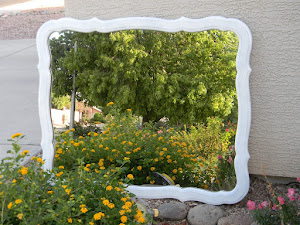 Distressed Mirror  *SOLD*