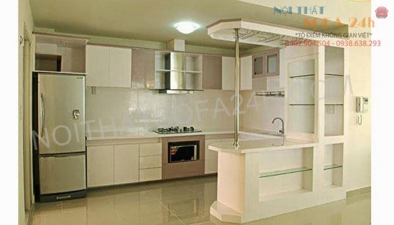 Tủ bếp TB013