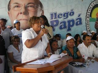 Santana Leyba dice el voto de las mujeres definirá triunfo de Hipólito en primera vuelta