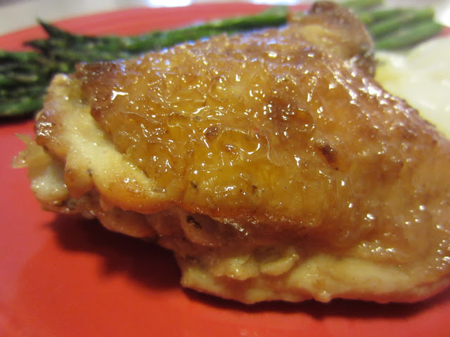 Renee's Kitchen Adventures:  Lemon Ginger Chicken Thighs.  Amazing flavor, super easy!