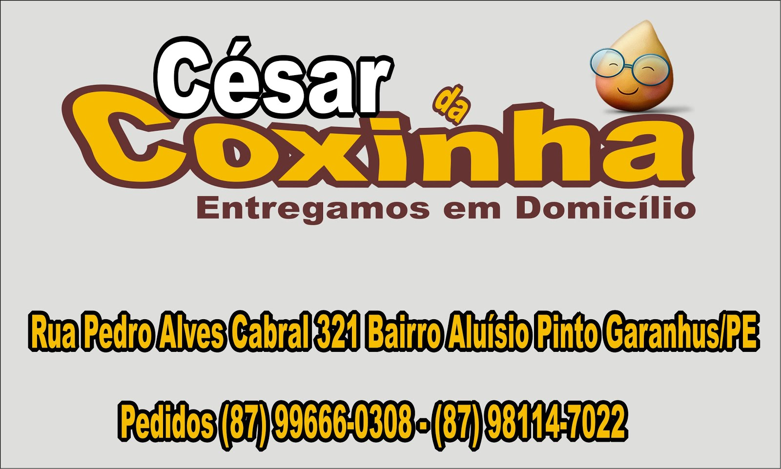César da coxinha.