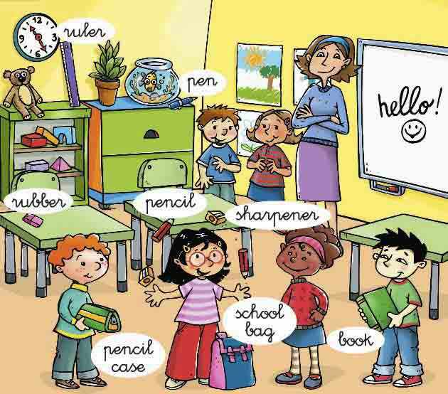 Year 1 year 2 english and science for Actividades en el salon de clases