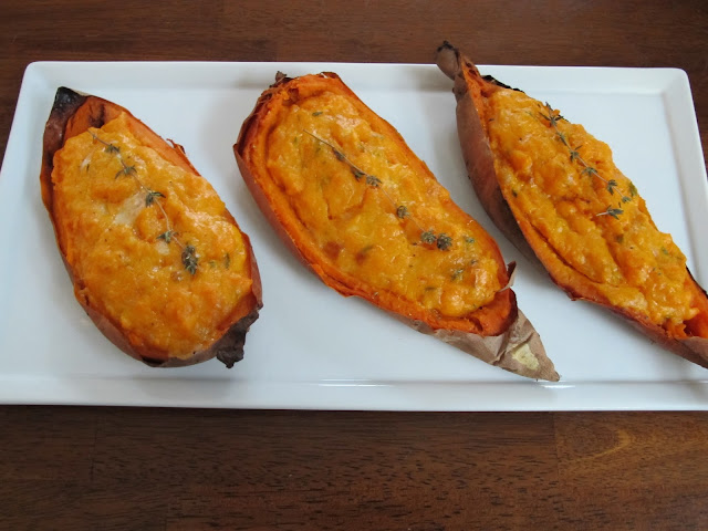 Barefoot Contessa Twice-Baked Sweet Potatoes