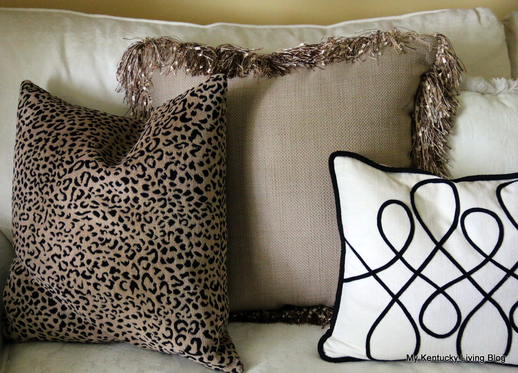 Animal Print Floor Pillows : Start With the Floor - My Kentucky Living