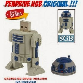 Pendrive Robot R2D2 Star Wars