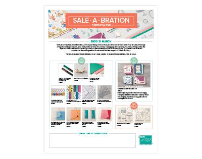 Sale a Bration aanvulling