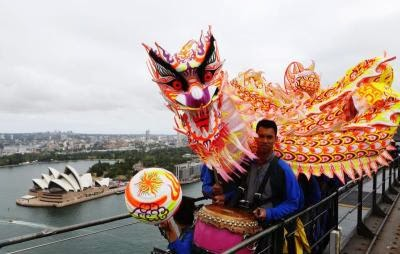 AUSTRALIA CHINESE NEW YEAR