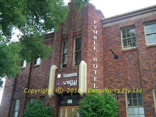 Pymble hotel side entrance
