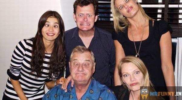 Family Photo Poses Funny