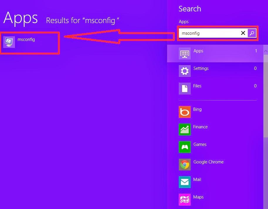 Windows 8 Search F8 দিয়ে উইন্ডোজ ৮ এ সেফ মোডে প্রবেশ করুন খুব সহজে!!
