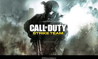 Screenshots of the Call of Duty: Strike Team for Android tablet, phone.