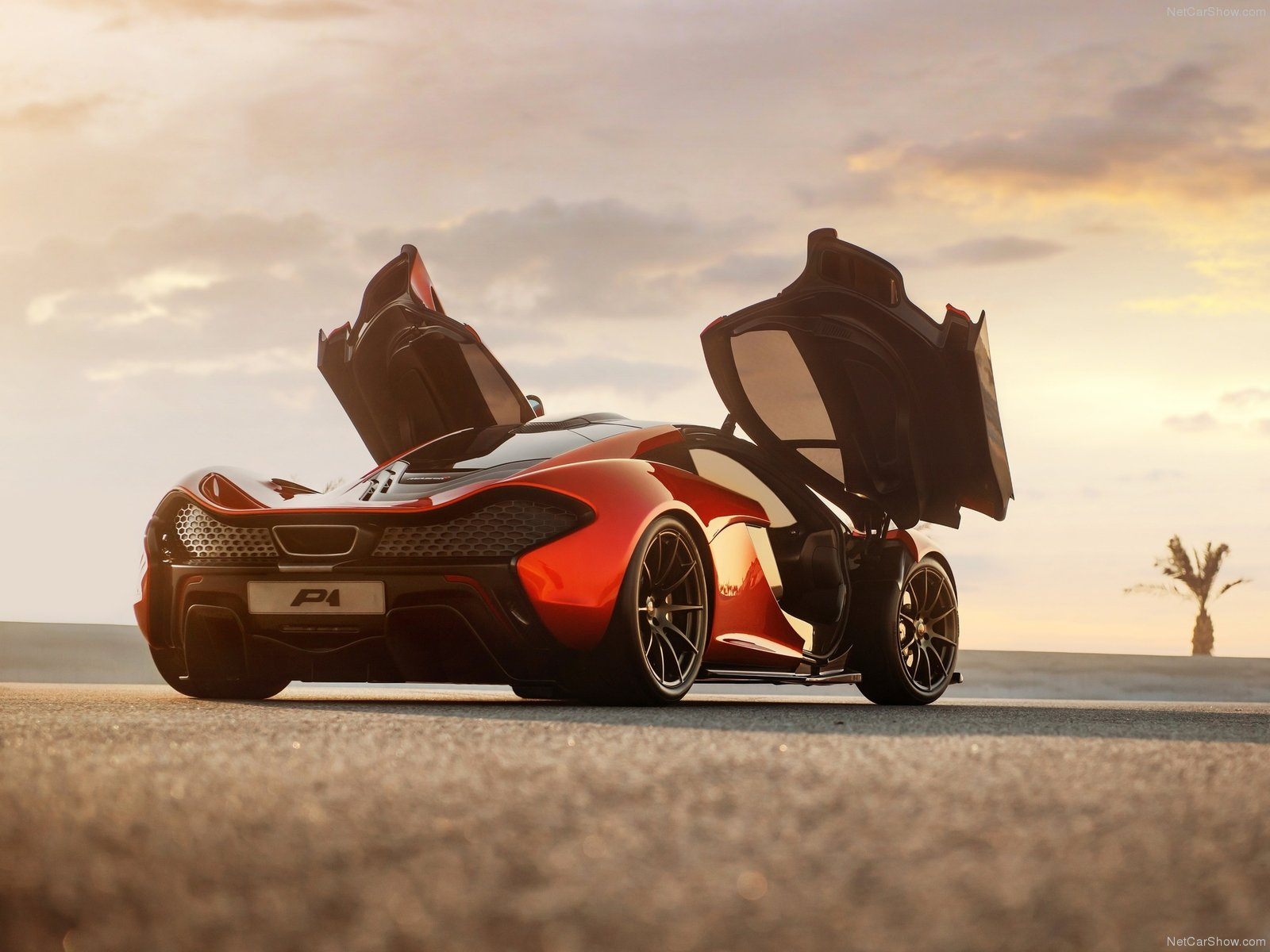 Hình ảnh siêu xe McLaren P1 Concept 2012 & nội ngoại thất