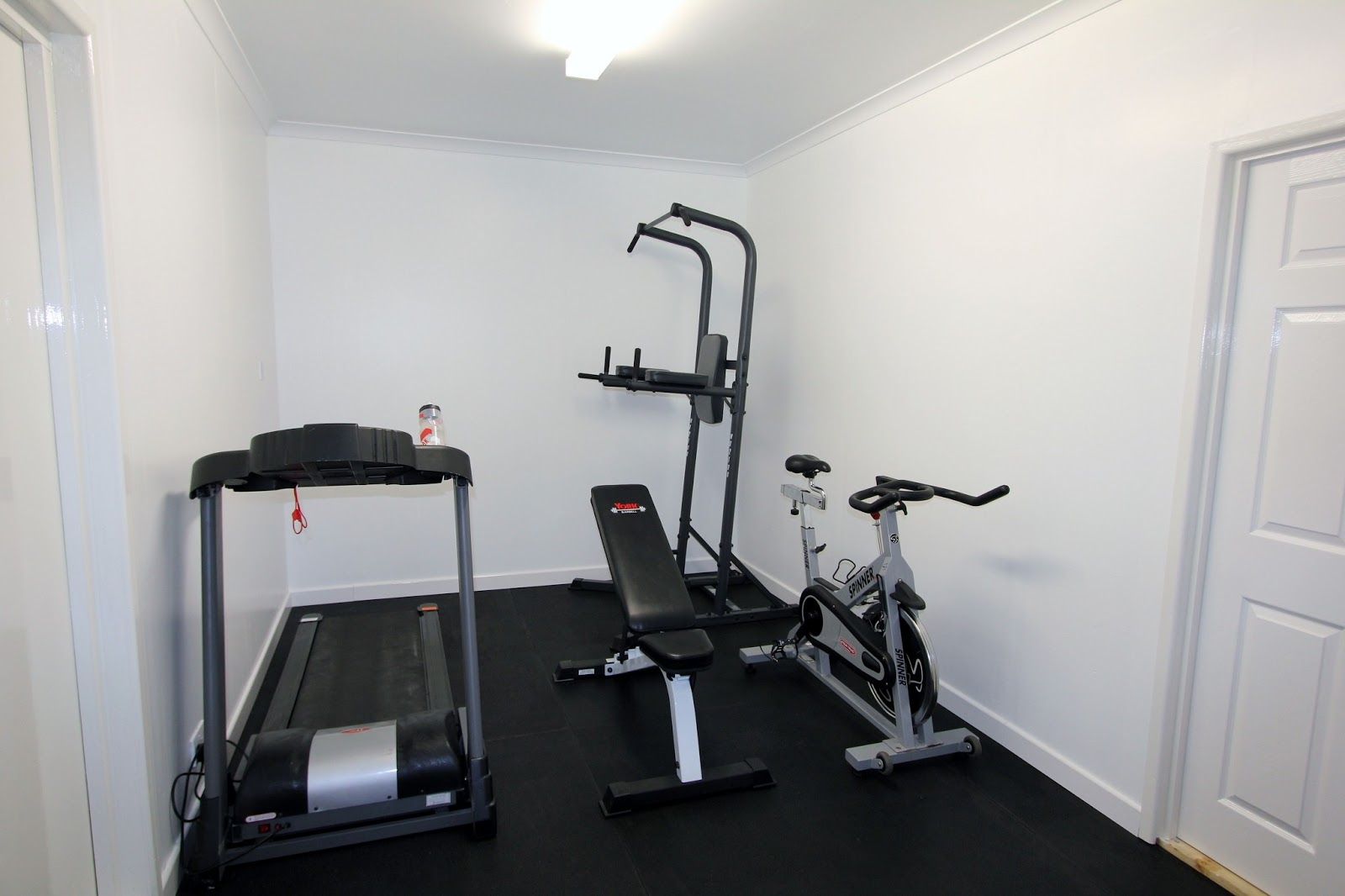 My new garage gym