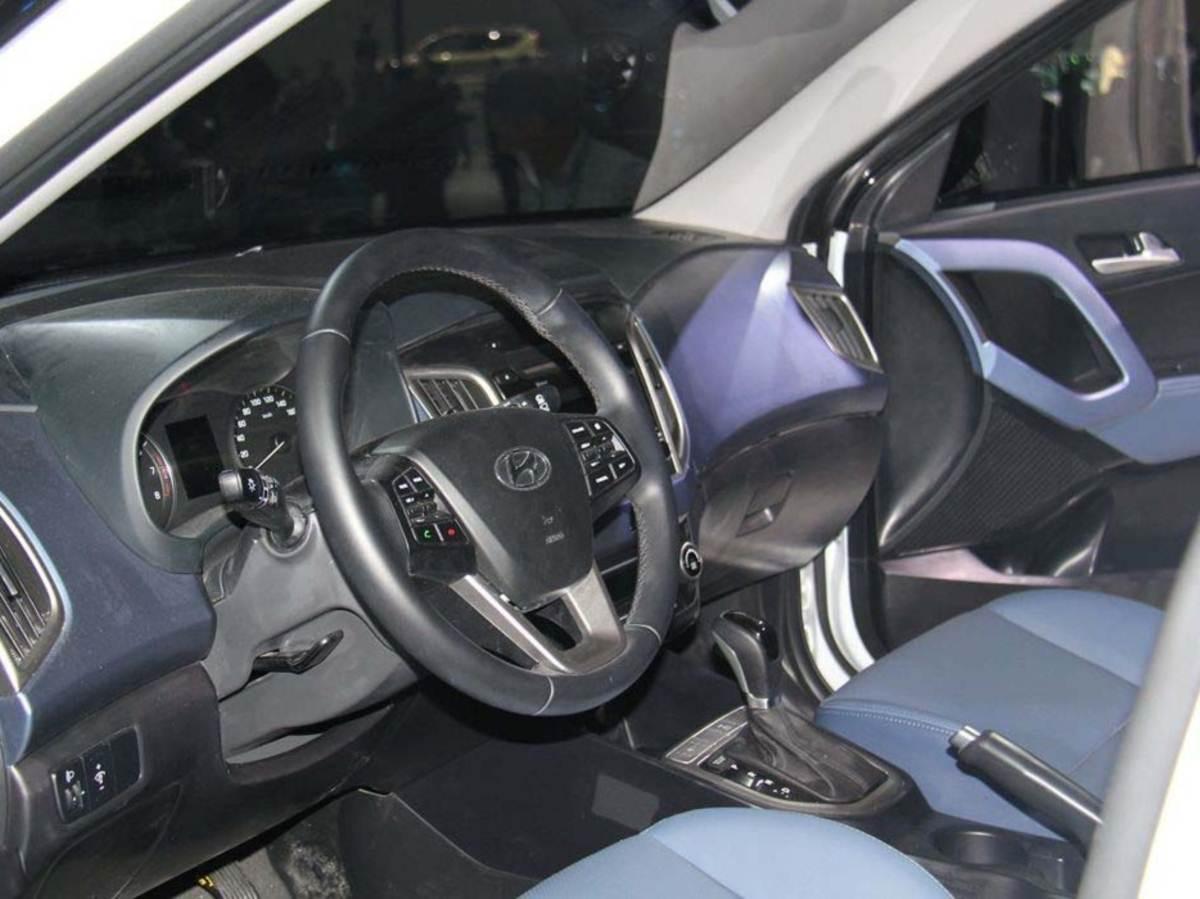 2016 Hyundai Creta - interior