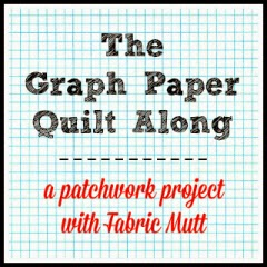 Quilt Patterns On Graph Paper : Fabric Mutt: The Graph Paper Quilt Along