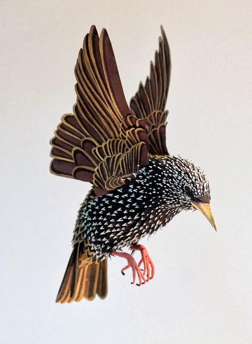 12-Starling-Paper-Bird-Sculptures-Colombian-Artist-Diana-Beltran-Herrera-www-designstack-co
