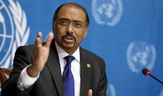 Le Directeur exécutif de l'ONUSIDA, Michel Sidibé. Photo: ONUSIDA/Jean-Marc Ferré